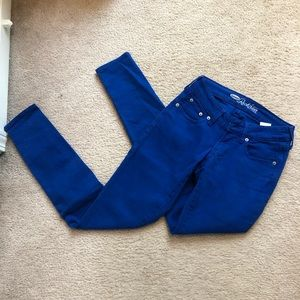 Blue Old Navy Skinny Jeans